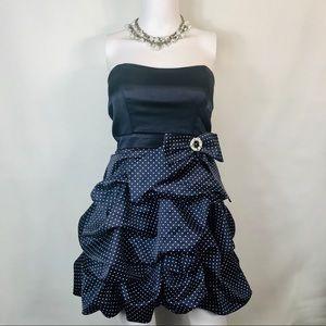 Trixxi Strapless Party Dress